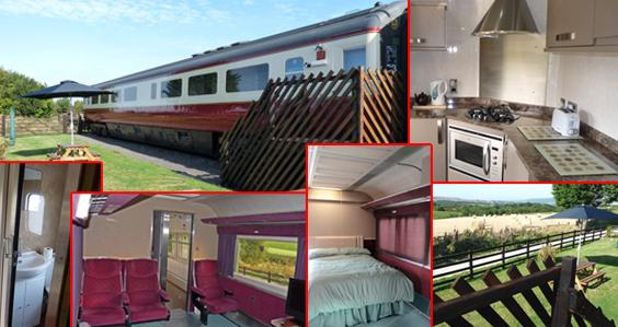 Self-catering Railway Carriage Accommodation