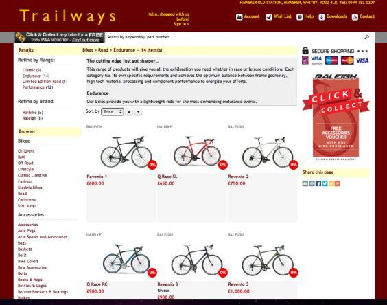 New Bikes On-line