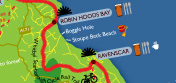 View our guide to the Whitby - Scarborough cycle trail